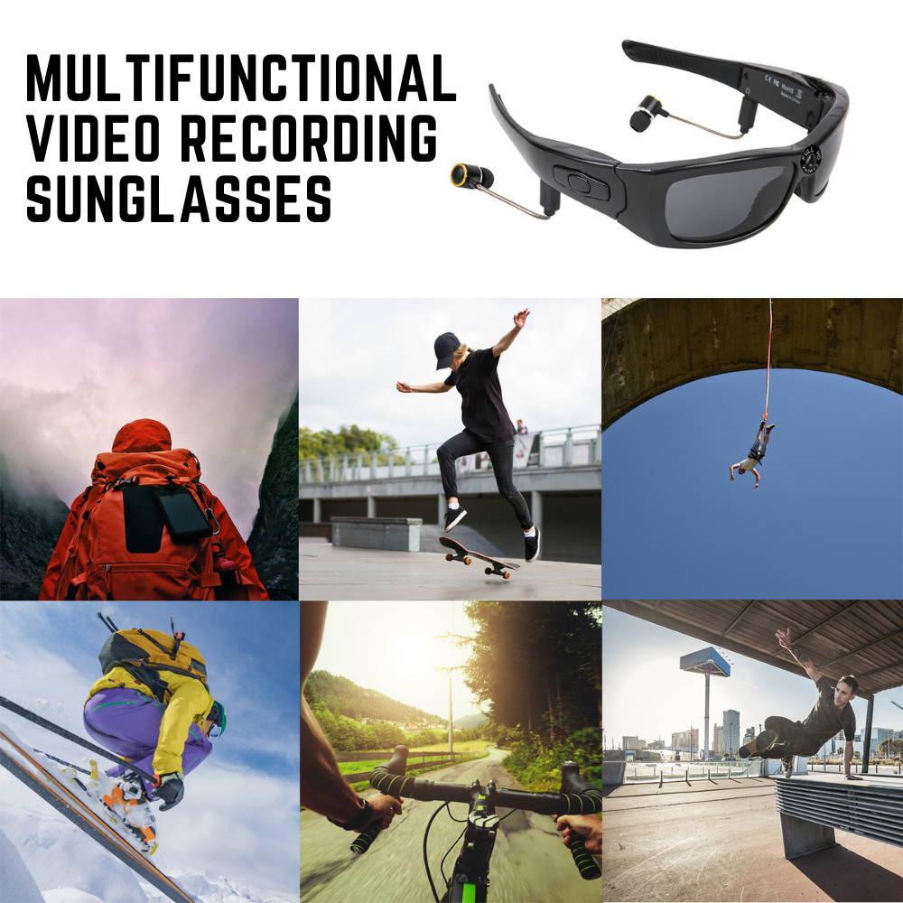 spy glasses with camera camera sunglasses recording glasses