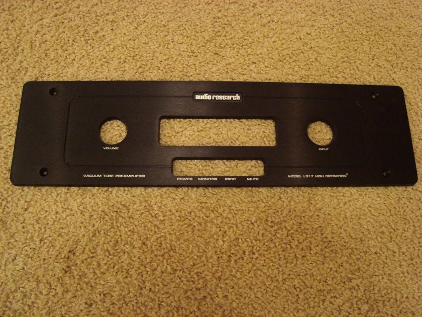 Audio Research LS17 Black Faceplate