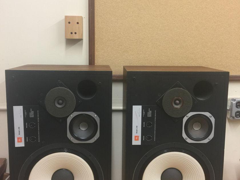 JBL L100 3 Way Loudspeaker Pair Tube Amp