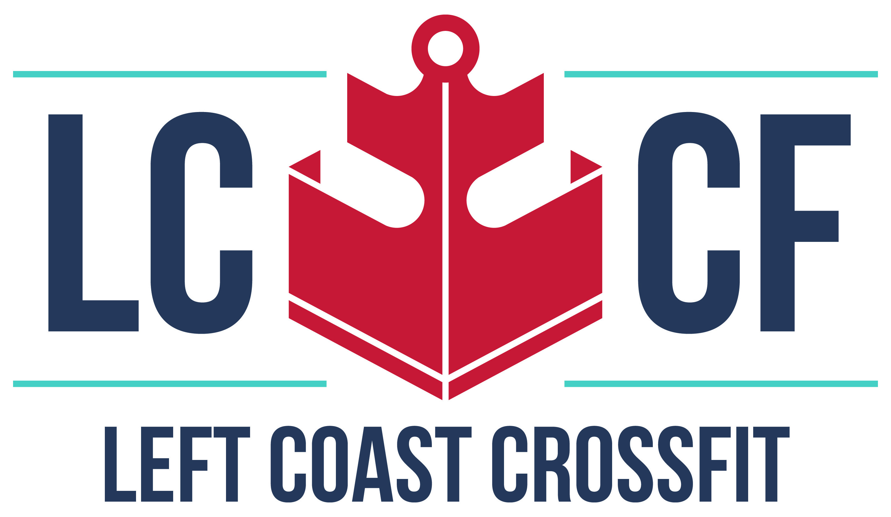 Left Coast CrossFit logo