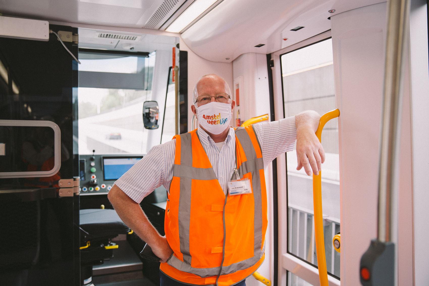 De trambestuurders van GVB hebben er zin in om volop te testen en te oefenen de komende maanden. En ook zij kijken uit naar de officiële start van Lijn 25 op 13 december 2020!