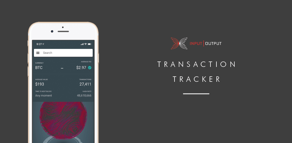 The Symphony transaction tracker mobile app