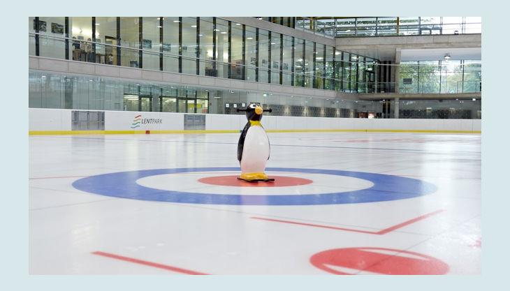 lentpark eishalle kindergeburtstag pinguin