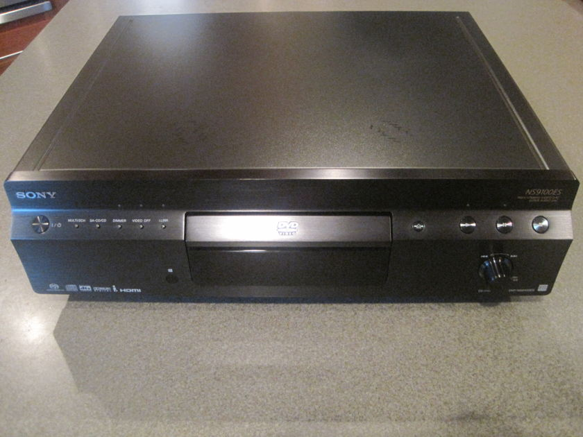 Sony DVP-NS9100ES  SACD and DVD