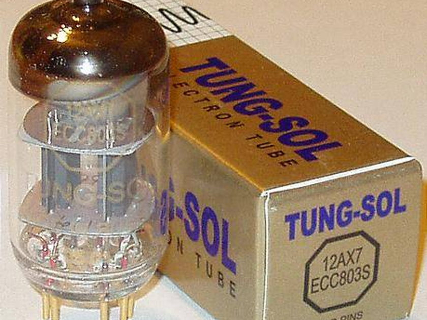 Tung sol ECC803S/12AX7 gold pin tube, brand new,sale
