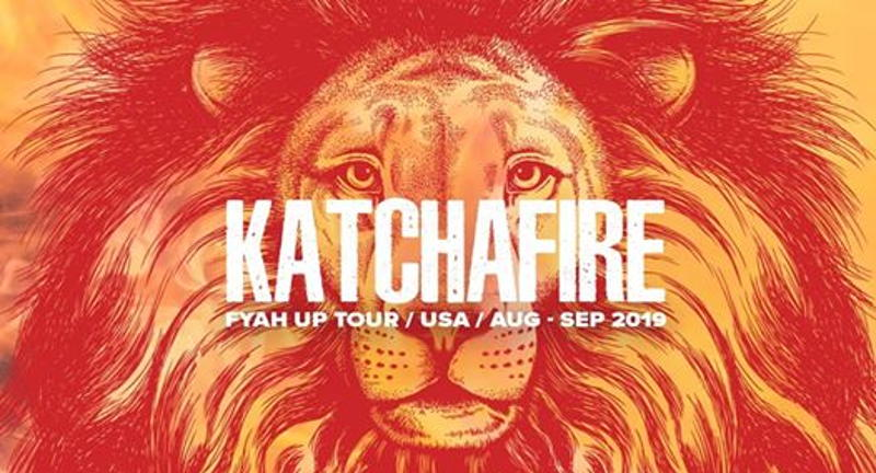 Katchafire FYAH UP USA 2019 - Felton CA | Sep 8 | Rootfire