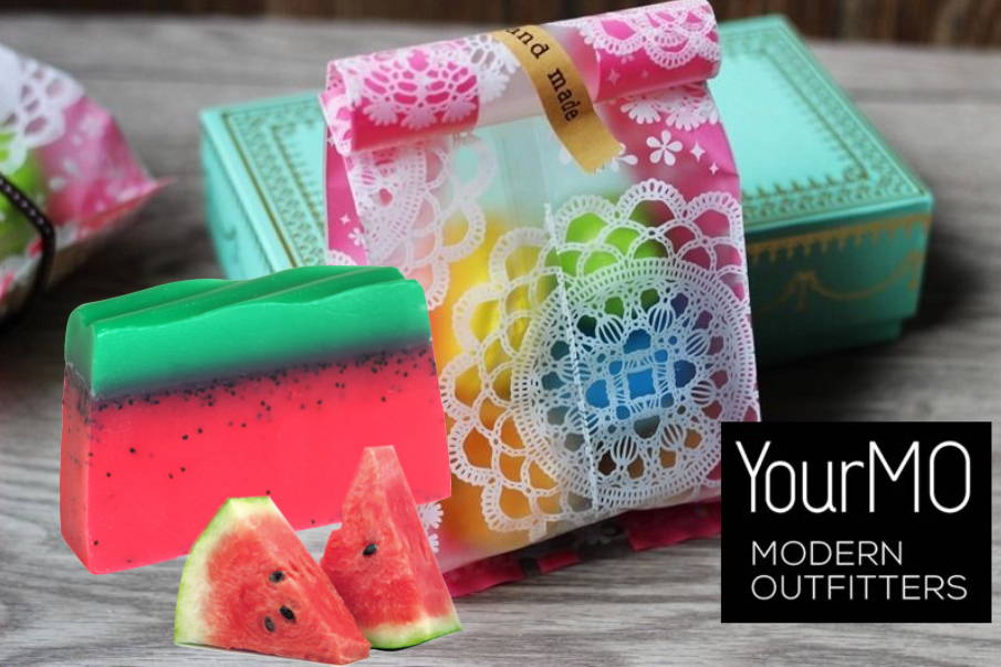 watermelon handmade soap