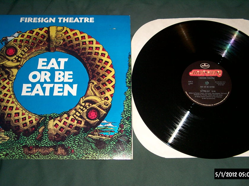 Firesign Theatre - Eat Or Be Eaten promo lp nm