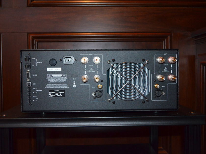 Classe Audio CT-2300 stereo amp, original owner  under warranty for another 3 years