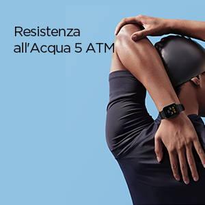 Amazzfit Bip U - Resistenza all'Acqua 5 ATM