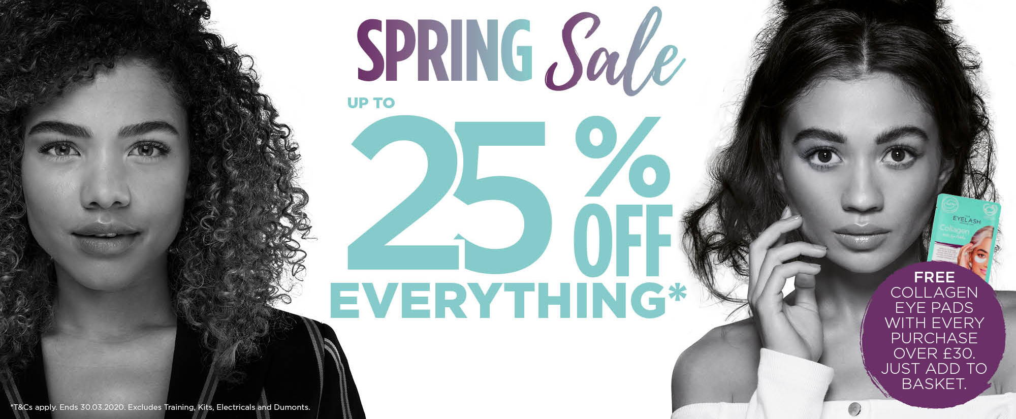 Spring Sale - Shop up to 25% off