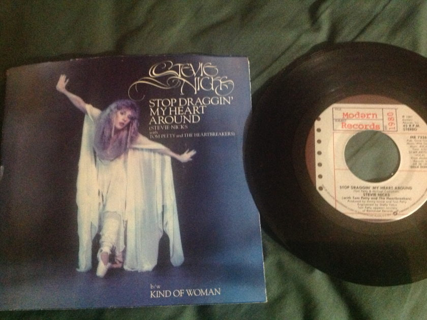 Stevie Nicks - Stop Draggin My Heart Around 45 With Sleeve