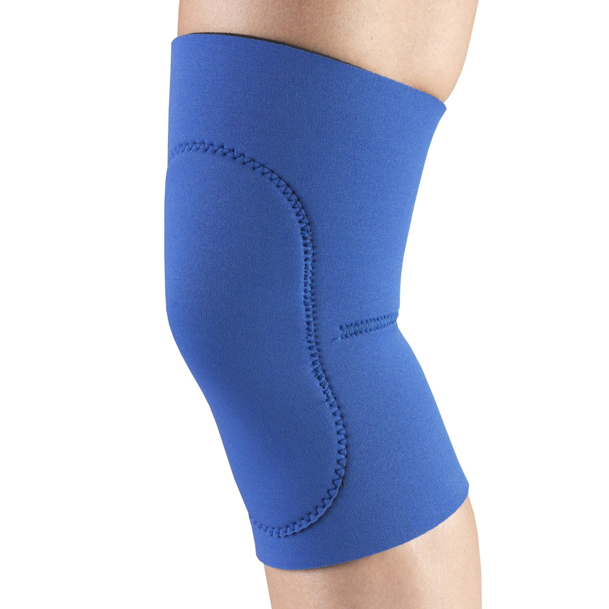 O141 / NEOPRENE KNEE SLEEVE - OVAL PAD