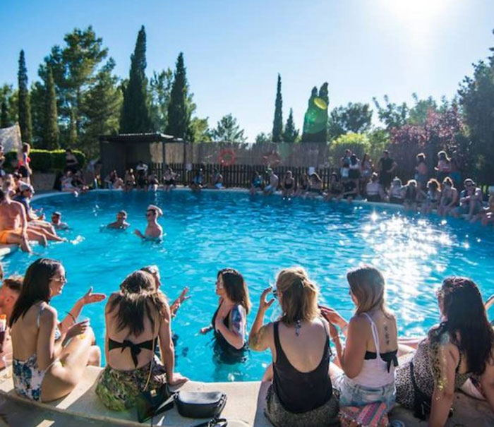 Pool party clubs ibiza, Benimussa park tickets