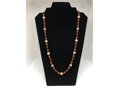 Lace Agate & Carnelian Necklace