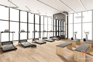 dezeno-sdn-bhd-contemporary-minimalistic-modern-malaysia-selangor-gym-room-3d-drawing-3d-drawing