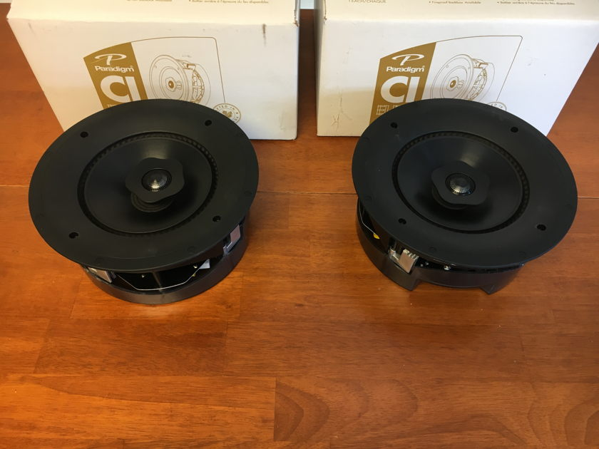 Paradigm E80-R pair