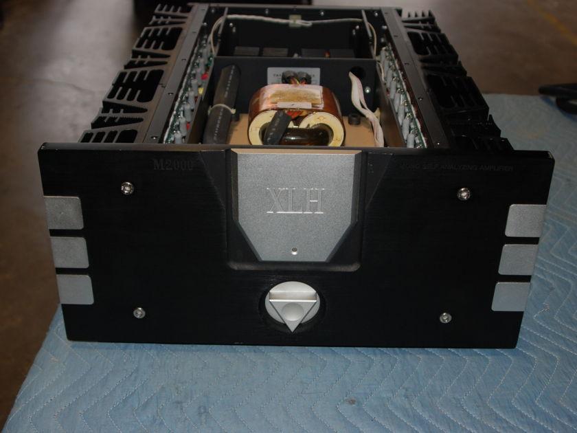 XLH  M-2000 Mono Blocks Self Analyzing Amplifiers
