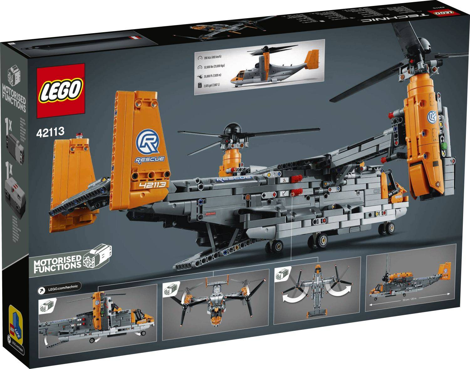lego 42113 box other side