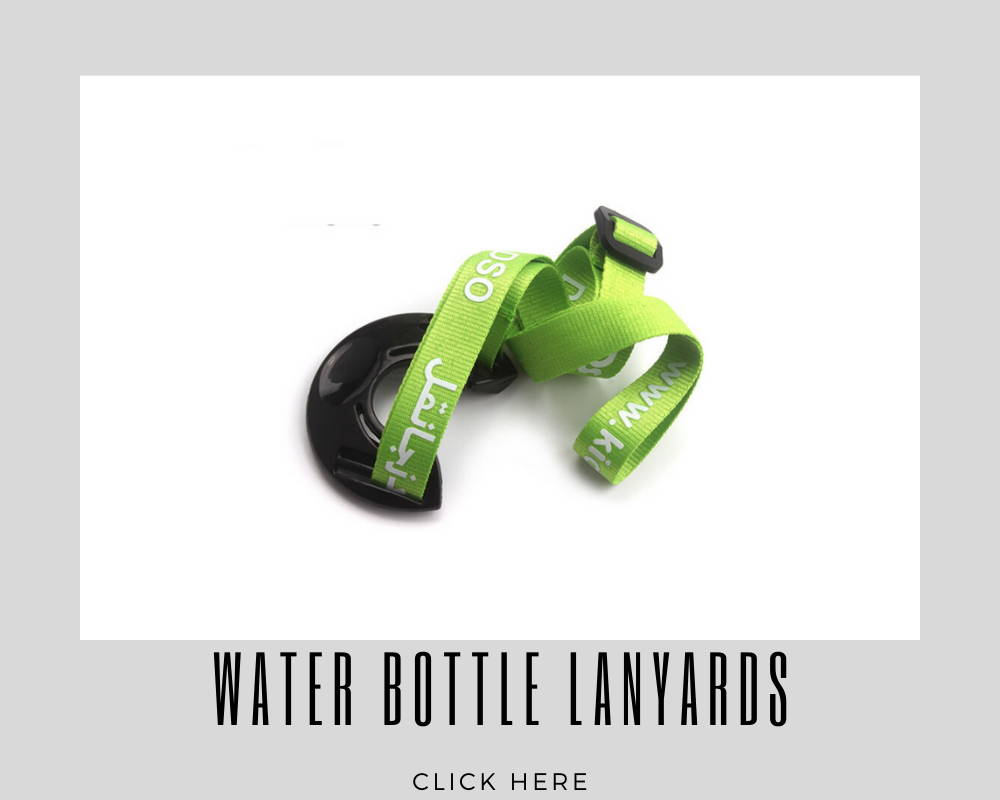 Water Bottle Holder Custom Corporate Lanyards