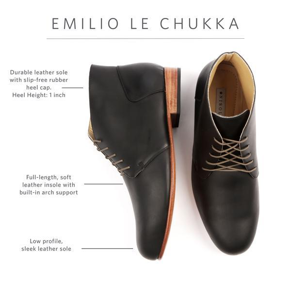 emilio le chukka boot for men