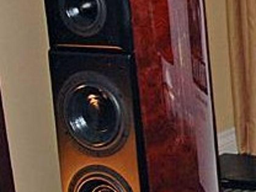 Acoustic Zen Crescendo speakers superb  absolute sound raveup!