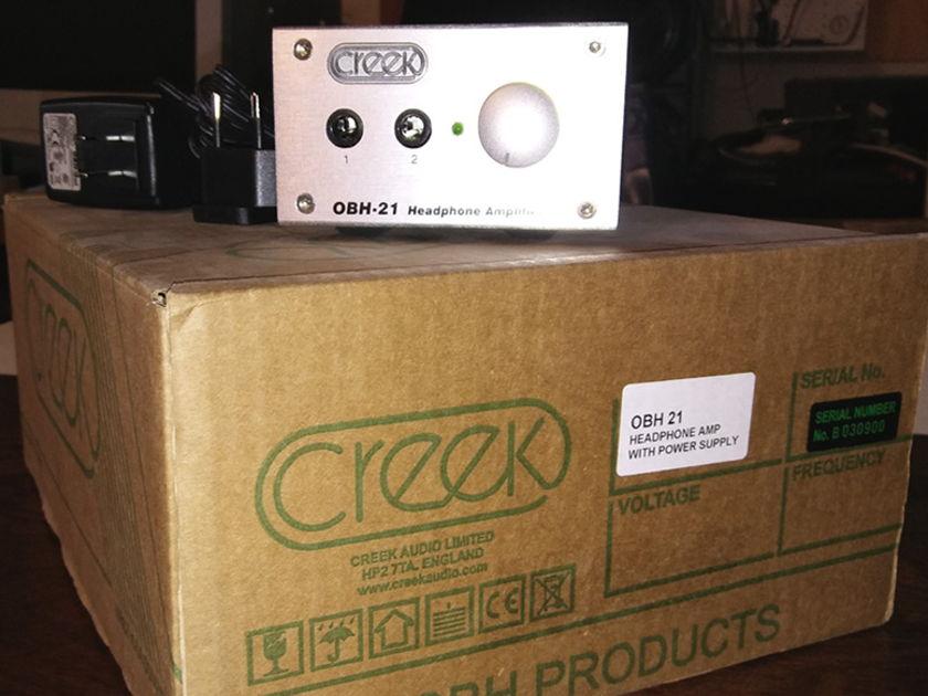 Creek OBH-21 Headphone Amplifier DEMO