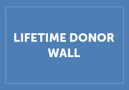 Lifetime Donor Wall Button