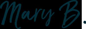 Mary B. signature