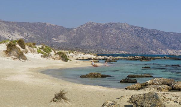 Розовый пляж Элафониси (из Ханьи)
