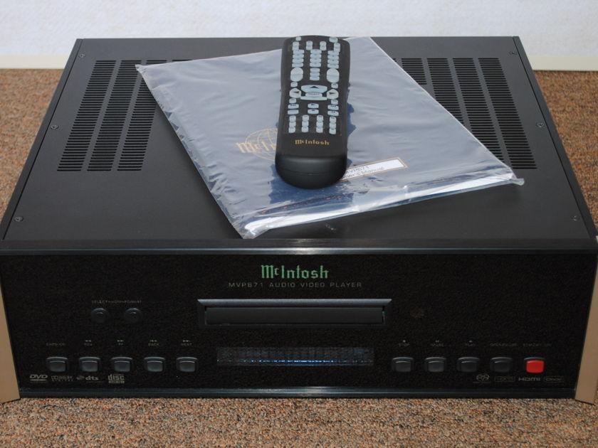 McIntosh MVP-871 DVD/CD/SACD/DVD-A Player