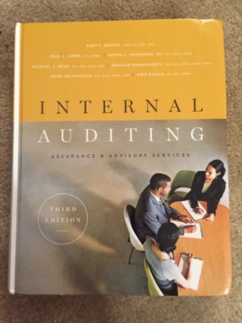RENTERS BAY: Internal Auditing Textbook