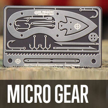 tiny and micro survival gear
