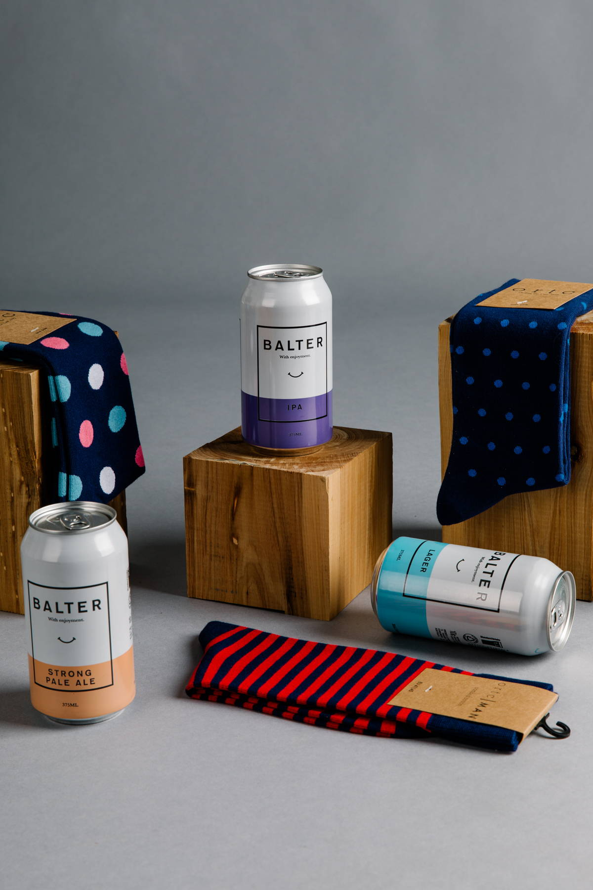 AS Colour T-shirt + Beer, part of Manflower Co's range of holiday gifts for men.