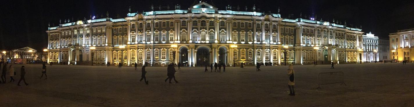 Автомобильная ночная экскурсия по Санкт-Петербургу