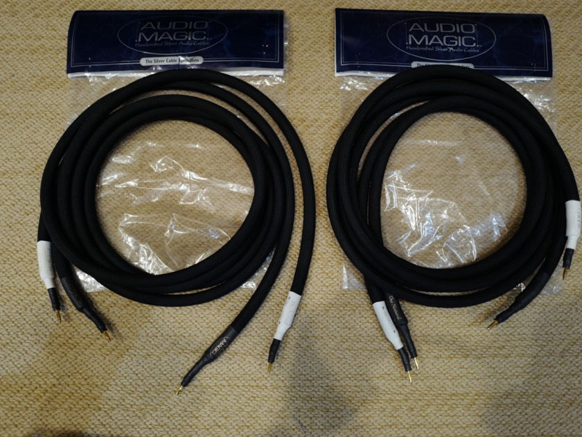 "Audio Magic Cables ""The Natural"" 8' Speaker Cables Banana"