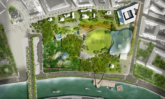 Международный конкурс на ландшафтно-архитектурную концепцию парка «Зарядье»