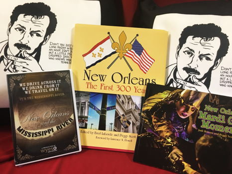 Tennessee Williams Throw Pillows and New Orleans Books