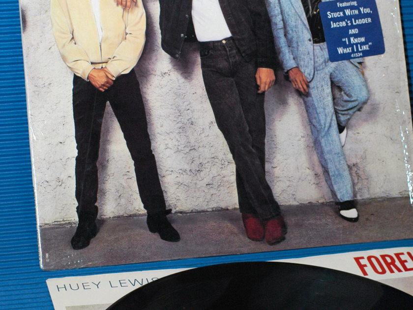"HUEY LEWIS & THE NEWS -  - ""Fore!"" -  Chrysalis 1986"