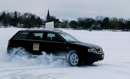 Audi Club Wisconsin Ice Driving School