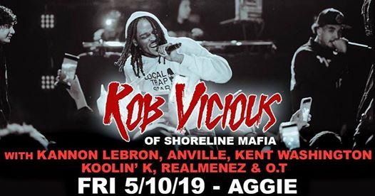 5/10 Rob Vicious (Shoreline Mafia) w/ Kanon Lebron, Anville