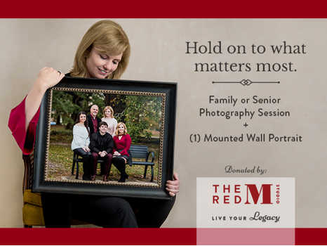 Photography Session and Wall Portrait from The Red M Studio!