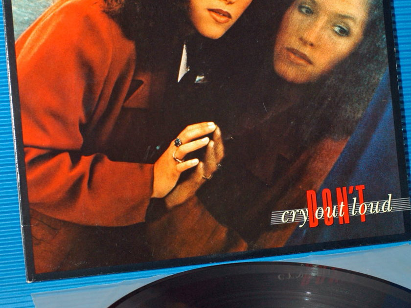 "MELISSA MANCHESTER   - ""Don't Cry Out Loud"" -  Nautilus Super Disc 1981"