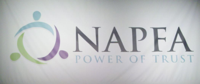 NAPFA waves its new flag.