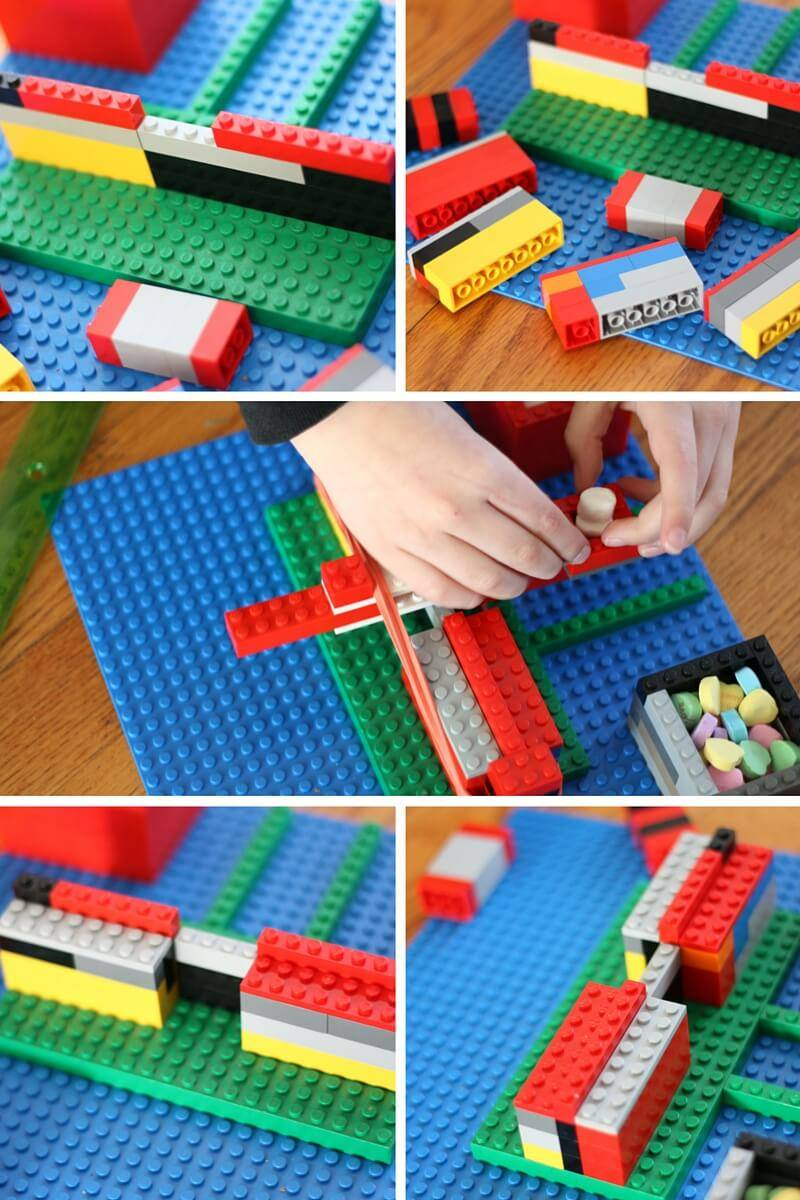lego catapult first step
