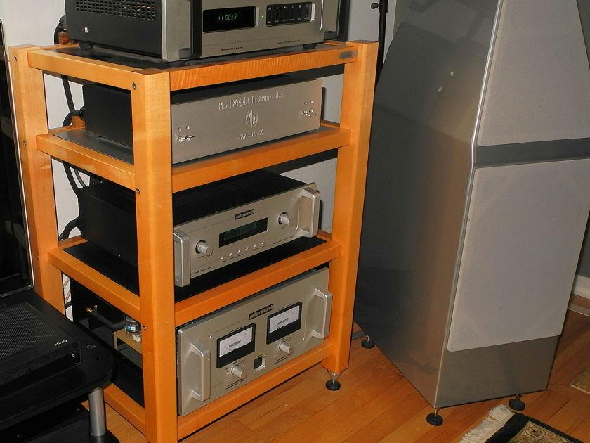 Zoethecus Maple 4 shelf Audio component Isolation system rack