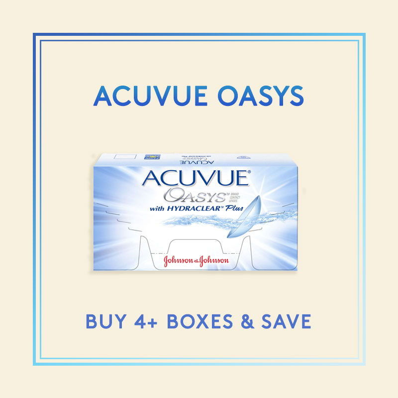 Acuvue Oasys Biweely Contacts