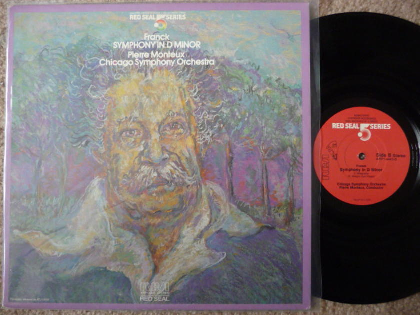 FRANCK SYMPHONY IN D MINOR - .5 series RED SEAL AUDIOPHILE LP