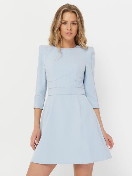 Платье DOLL, голубое