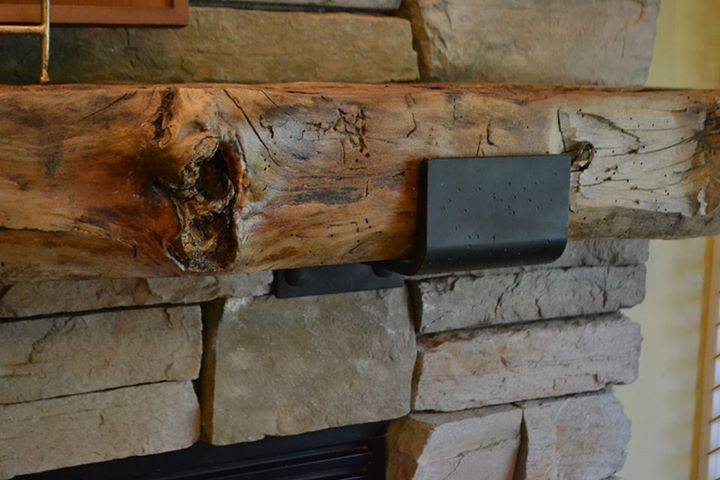 Hand Carved Cedar Or Natural Rustic Fireplace Mantels